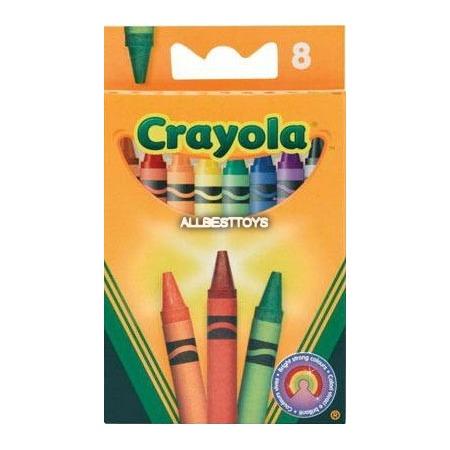 Набор восковых мелков Crayola 0008C