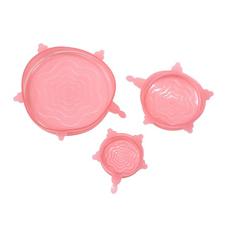 Купить Набор крышек силиконовых Marmiton: 3 шт.