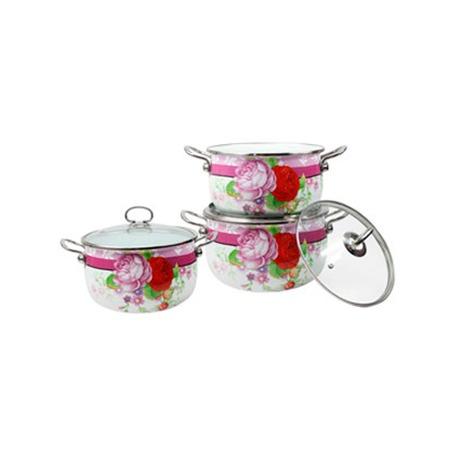 Купить Набор посуды Delta Розовый букет
