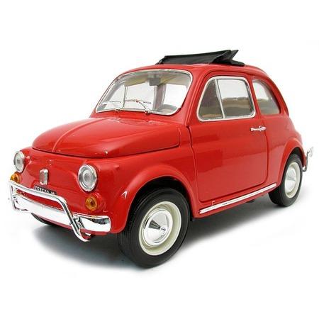 Купить Модель автомобиля 1:18 Bburago Fiat 500L (1968). В ассортименте
