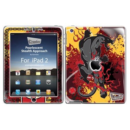 Купить Наклейка 3D для iPad Gizmobies Pearlescent Stealth Approach