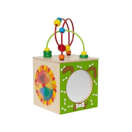 Купить Игрушка деревянная Hape «Активный куб-лабиринт»
