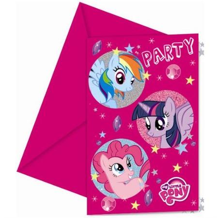 Купить Приглашения в конвертах Procos «Моя маленькая пони»