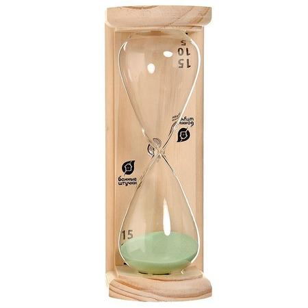 Купить Часы песочные Банные штучки «Люкс»