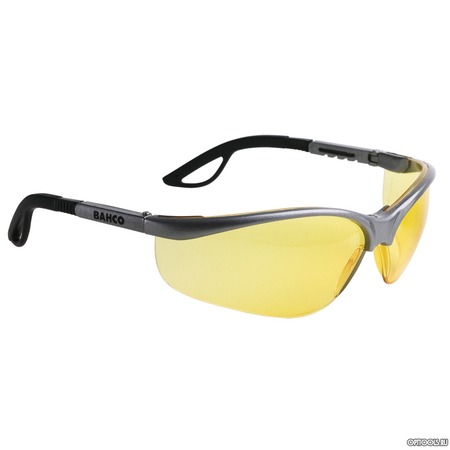 Купить Очки BAHCO защитные с желтым фильтром