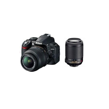 Купить Фотокамера цифровая Nikon D3100 Kit 18-55mm VR / 55-200mm VR