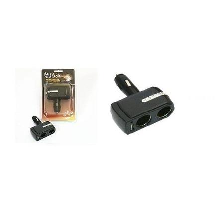 Купить Разветвитель прикуривателя Auto Crystal 2х12 В и USB
