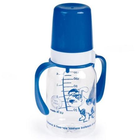 Купить Бутылочка для кормления CANPOL с ручкой, 120 мл