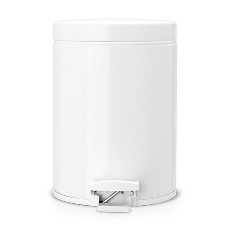 Бак для мусора с педалью Brabantia. Объем: 5 литров. Цвет: белый. Уцененный товар
