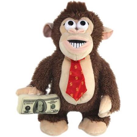 Купить Игрушка интерактивная «Обезьянка Финансист»