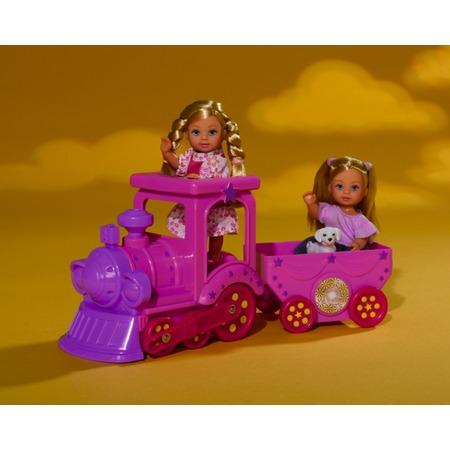 Купить Кукла еви Simba на поезде