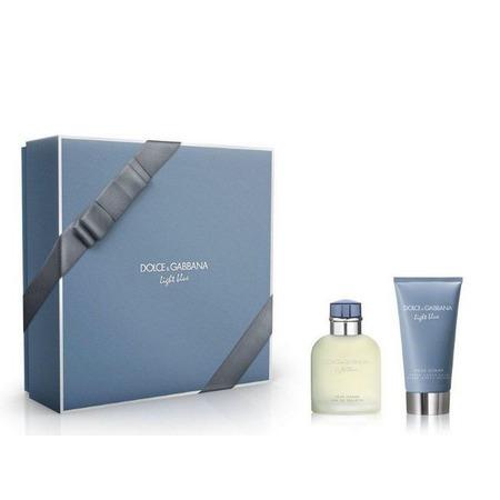 Купить Набор мужской: туалетная вода и бальзам после бритья Dolce&Gabbana Light blue pour homme, 75 мл