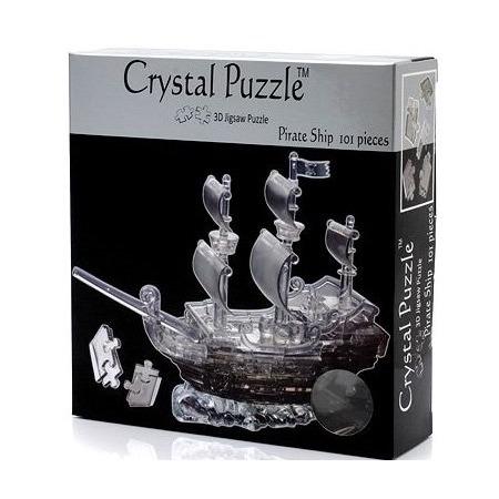 Купить Кристальный пазл 3D Crystal Puzzle «Пиратский корабль»
