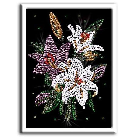 Купить Мозаика из пайеток Shantou Gepai «Лилии»