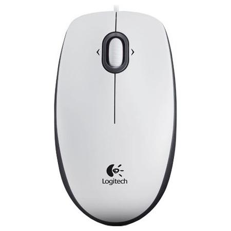 Купить Мышь Logitech M100 White USB