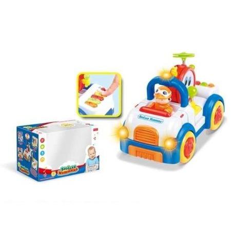 Купить Игрушка развивающая со звуком и светом Zhorya «Машинка» Х75123