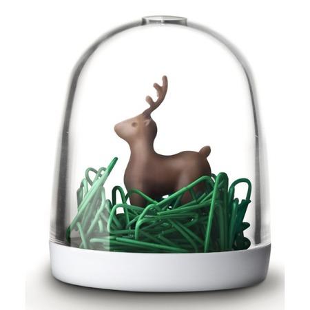 Купить Держатель для скрепок Qualy Deer in the forest