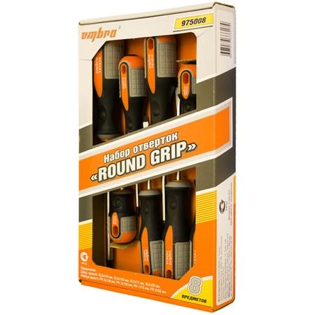 Купить Набор отверток Ombra ROUND GRIP 975008
