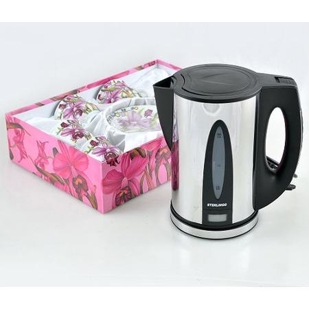 Купить Чайник STERLINGG ST-6886 и Чайный набор LORAINE на 6 персон
