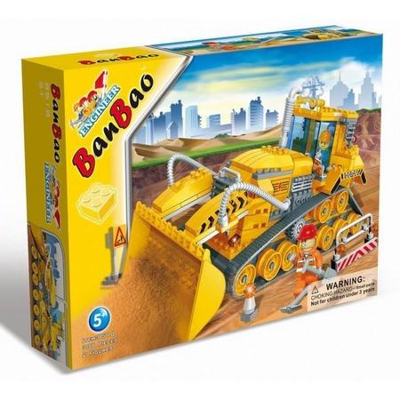 Купить Конструктор Banbao Строительная машинка, 308 деталей