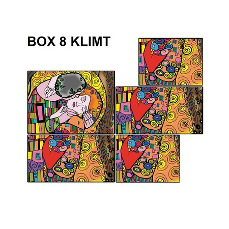 Купить Коробка-раскраска Color Velvet «Климт»