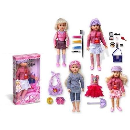 Купить Кукла шарнирная Zhorya Х75280 Анастасия. В ассортименте