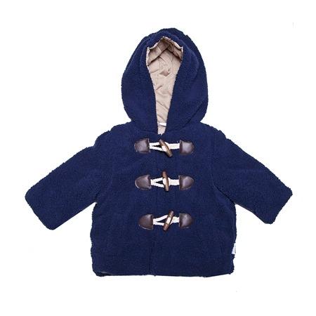 Купить Пальто с капюшоном Bon Bebe Медвежонок-navy