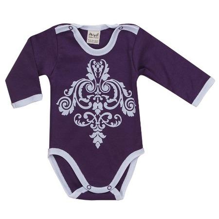 Купить Боди для новорожденных с длинным рукавом Ёмаё 24-316. Цвет: лиловый