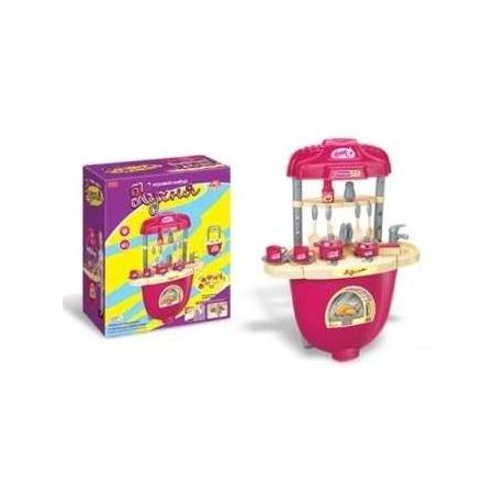 Купить Кухня с плитой и аксессуарами игрушечная Zhorya Х75389