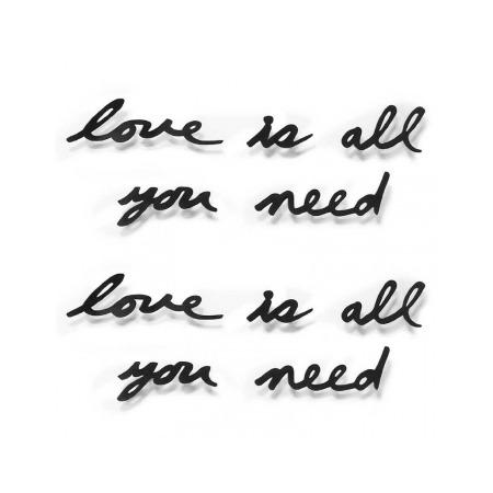 Купить Надпись декоративная настенная Umbra Love Is All You Need
