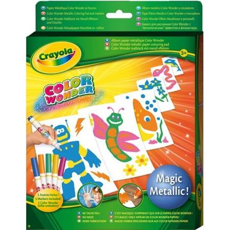 Купить Бумага для рисования Crayola Color Wonder