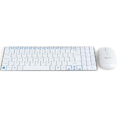 Купить Клавиатура с мышью Gembird KBS-P5-W-RU