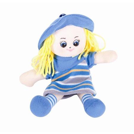Купить Мягкая игрушка Gulliver Кукла-малышка в голубом платье