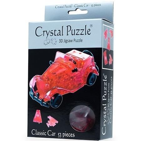 Купить Кристальный пазл 3D Crystal Puzzle «Автомобиль красный»