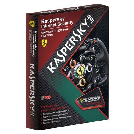 Купить Антивирусное программное обеспечение Kaspersky Kaspersky Internet Security Special FERRARI Rus. 1-Desktop, 1 year, Base Box