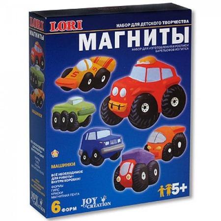 Купить Набор для творчества LORI «Машинки» М-012