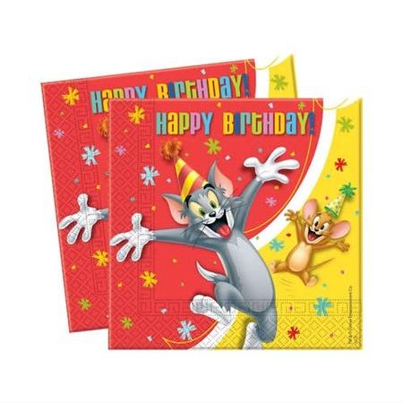 Купить Салфетки детские Procos «Вечеринка Тома и Джери»