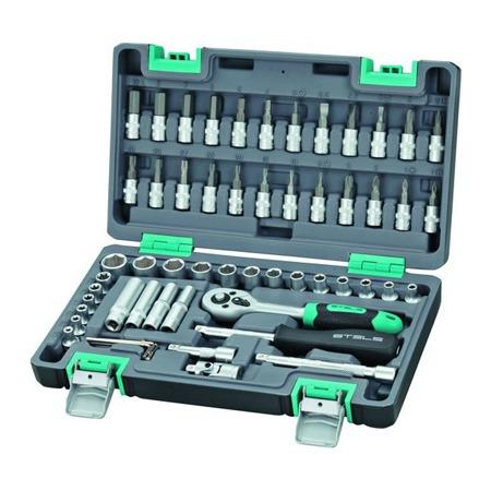 Купить Набор инструментов STELS: 57 предметов в кейсе