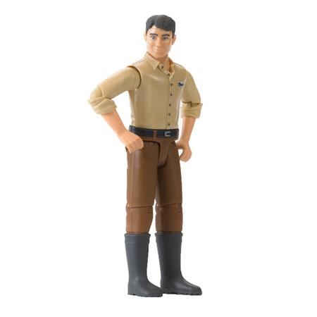 Купить Пластиковая игрушка Bruder Рабочий 60-011