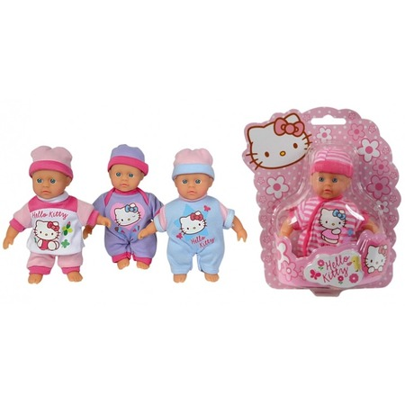 Купить Пупс Simba Hello Kitty 15 см. В ассортименте