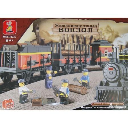 Купить Конструктор Tongde В71761 Железнодорожные вагоны