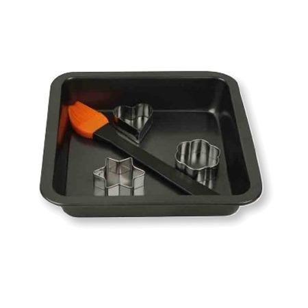 Купить Набор форм для выпечки с кисточкой Hausmann BK-200927