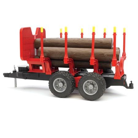 Купить Прицеп для перевозки леса с бревнами Bruder 02-251