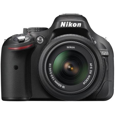 Купить Фотокамера цифровая Nikon D5200 Double Kit 18-55mm VR / 55-200mm VR
