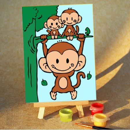 Купить Набор для рисования по номерам DIY A014
