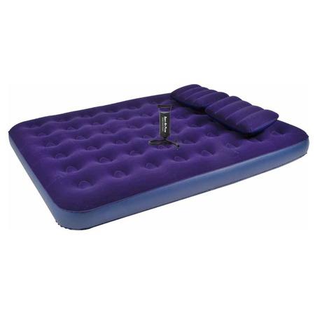 Кровать надувная Relax Flocked air bed queen with 2 Pillows&Handpump