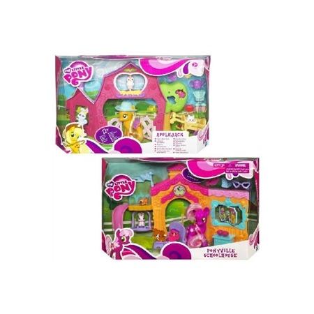 Купить Набор игровой для девочек Hasbro Пони 59406. В ассортименте