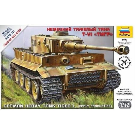 Купить Сборная модель Звезда немецкий танк Т-VI «Тигр»
