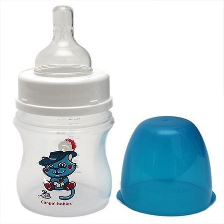Купить Бутылочка для кормления CANPOL EasyStart с широким горлышком, 120 мл