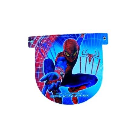 Гирлянда детская Procos «Человек-паук-Happy Birthday»